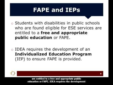 Idea And Iep Process >> Individuals With Disabilities Education Act Idea