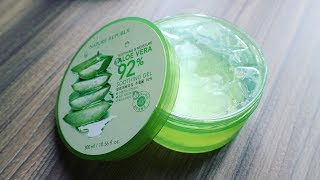REVIEW || Gel lô hội / Aloe Vera Nature Republic