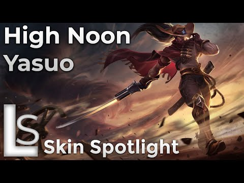 High Noon Yasuo - Skin Spotlight - High Noon - League of Legends - Patch 10.13.1