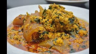 HOW TO MAKE EGUSI SOUP - NIGERIAN EGUSI SOUP - ZEELICIOUS FOODS