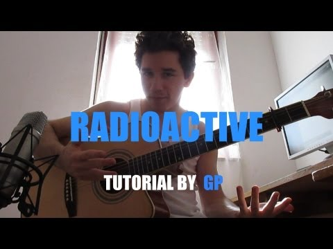 [Tutorial]Imagine Dragons - Radioactive (fingerstyle guitar cover by Peter Gergely)