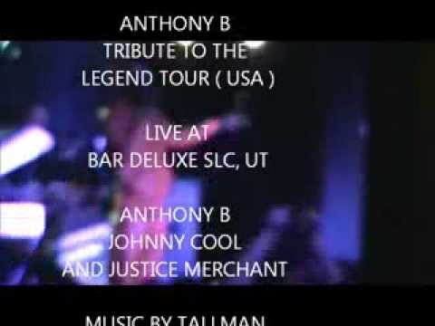Anthony B live in SLC Utah 2014 tour feat Justice Merchant