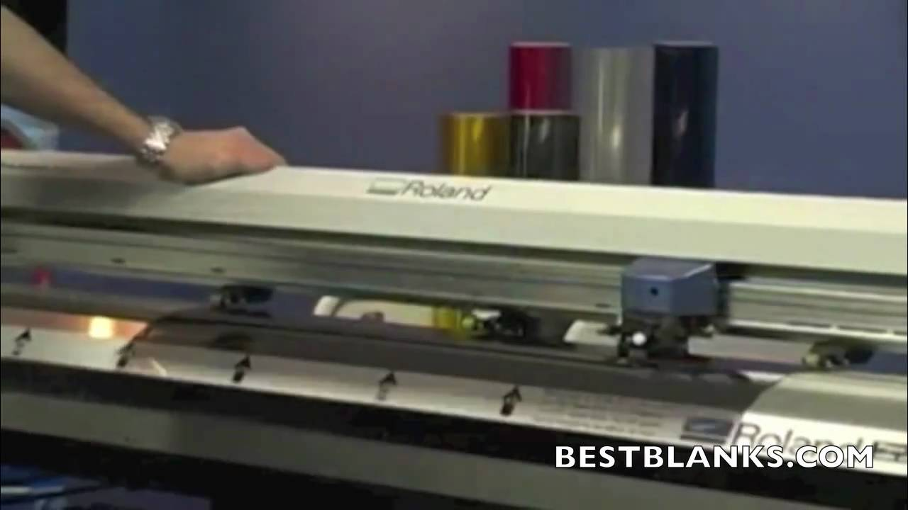 Vinyl Cutter Software >> How To Cut Window Tint Patterns with ROLAND GX-400 Vinyl ...
