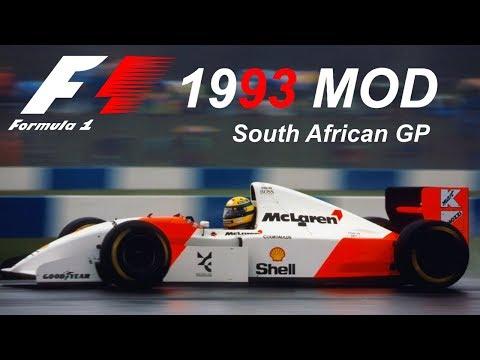 F1 1993 MOD - Ayrton SENNA - Part 1 South African Grand Prix