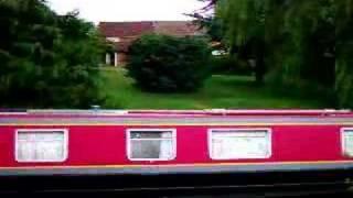 Red Narrow Boat