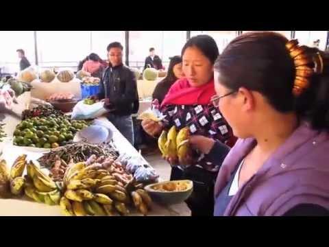 The Fabulous Centenary Farmers' Market, Thimpu, Bhutan