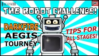 Infinity Blade 3: ROBOT CHALLENGE! TIPS FOR ALL DARKFIRE TOURNEY STAGES!