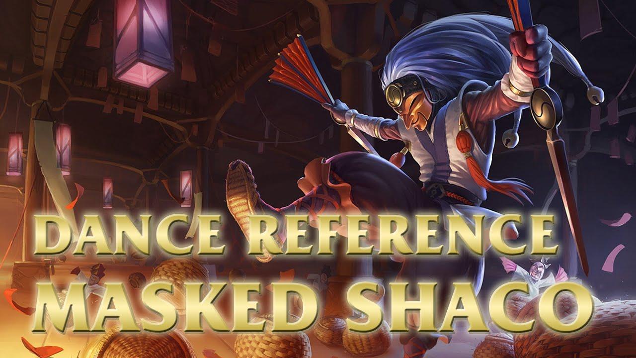 masked shaco talchum league of legends lol dance