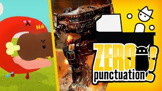 MechWarrior 5: Mercenaries & Wattam (Zero Punctuation) (Video Game Video Review)