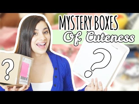 Opening Mystery Boxes of Cuteness! | Etsy Mystery Boxes