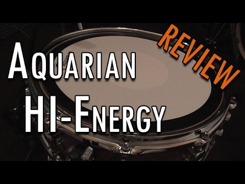 Aquarian Hi Energy Snare Drumhead Review Sonor S Clix