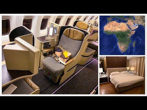 Flying First Class to Abu Dhabi!