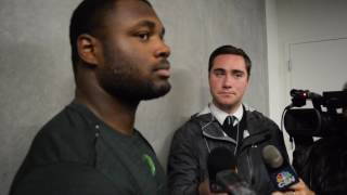 Royce Freeman post Cal