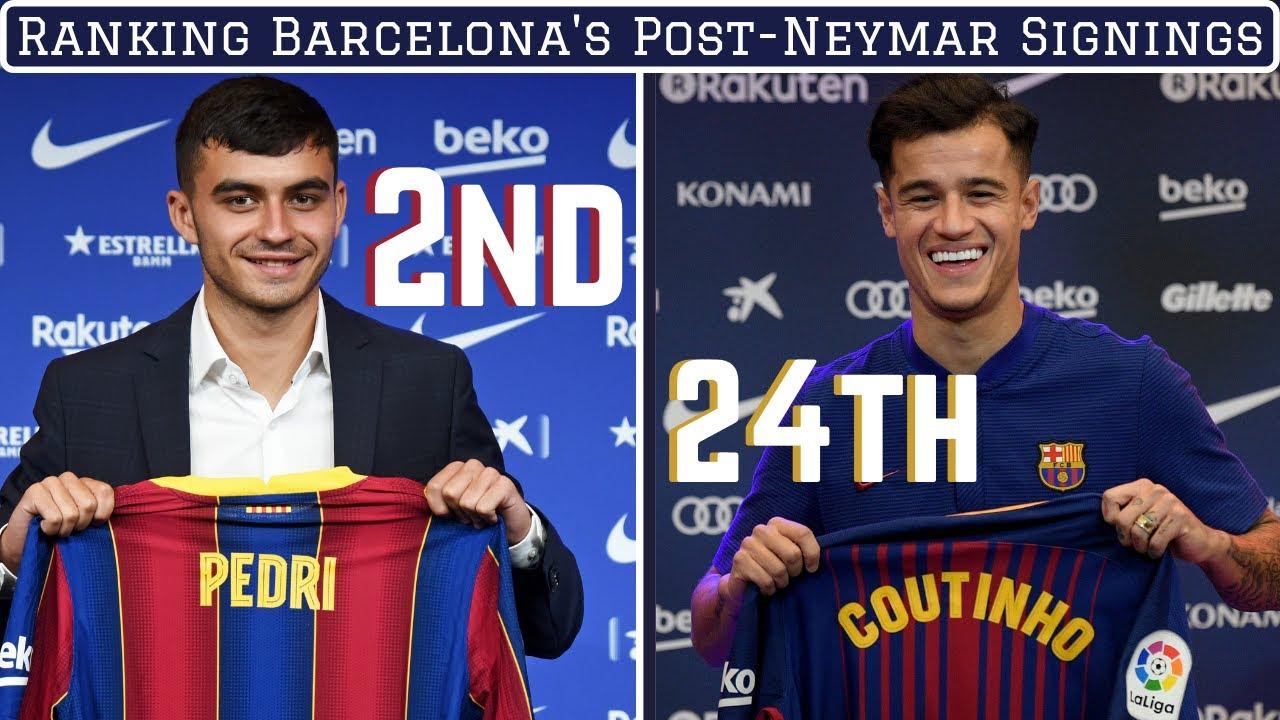 Ranking FC Barcelona's Signings Since Selling Neymar