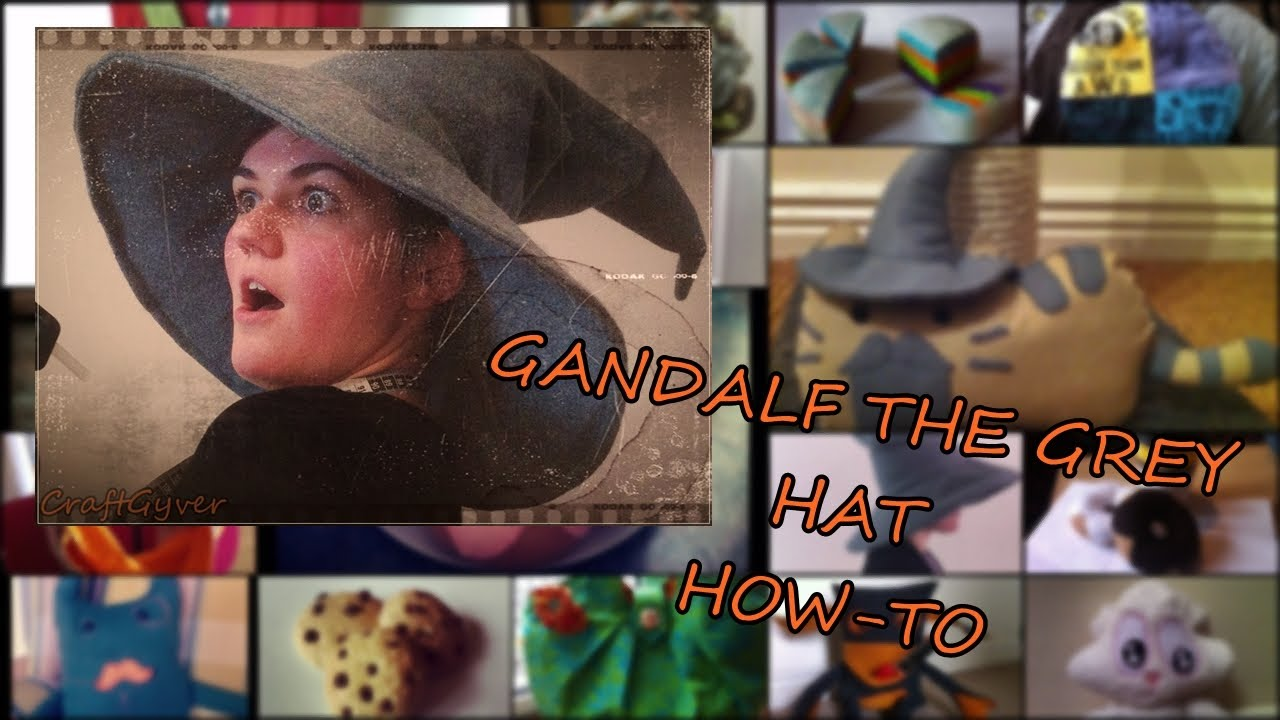 f3bfe136066 Gandalf the Grey Hat How-To - YouTube