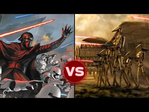 The First Order vs. the Separatists (CIS) in All Out War | Star Wars: Galactic Versus