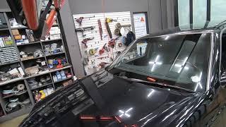 쌍용자동차 뉴 체어맨 차량의 깨진 전면유리교체, 앞유리…