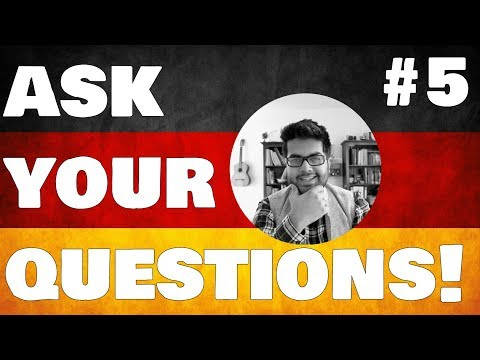 🔴 📹 Ask Your Questions #5: Studying in Germany