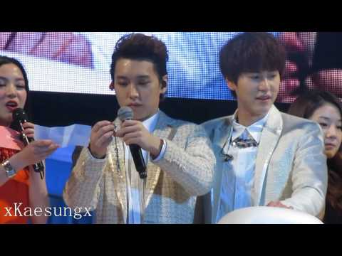 130414 Super Junior M Fan Meeting Beijing - KyuMin Talking