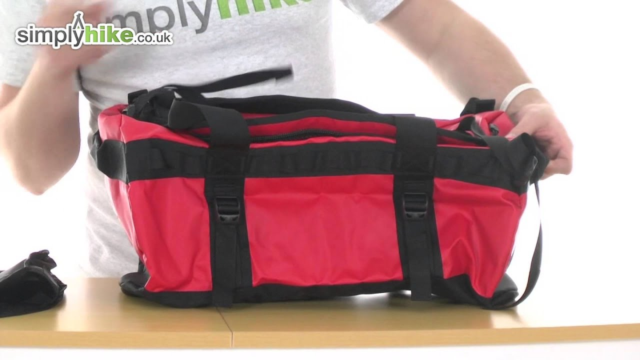 north face camp duffel s