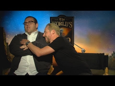 Simon Pegg and Nick Frost Interview: The World's End