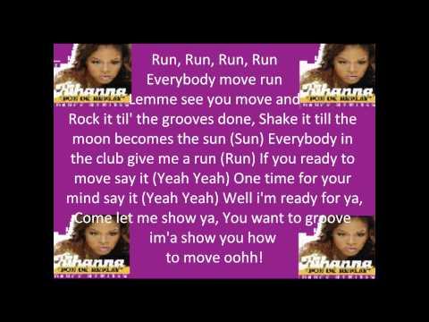 """""""Rihanna - Pon De Replay With Lyrics"""""""
