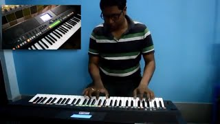 Roop Tera Mastana keyboard cover played by Subhranil