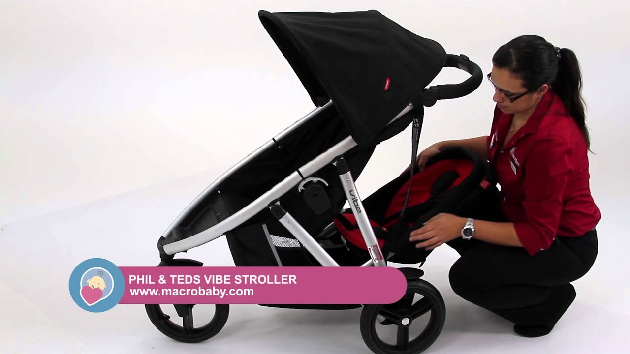 macrobaby phil teds vibe stroller youtube. Black Bedroom Furniture Sets. Home Design Ideas