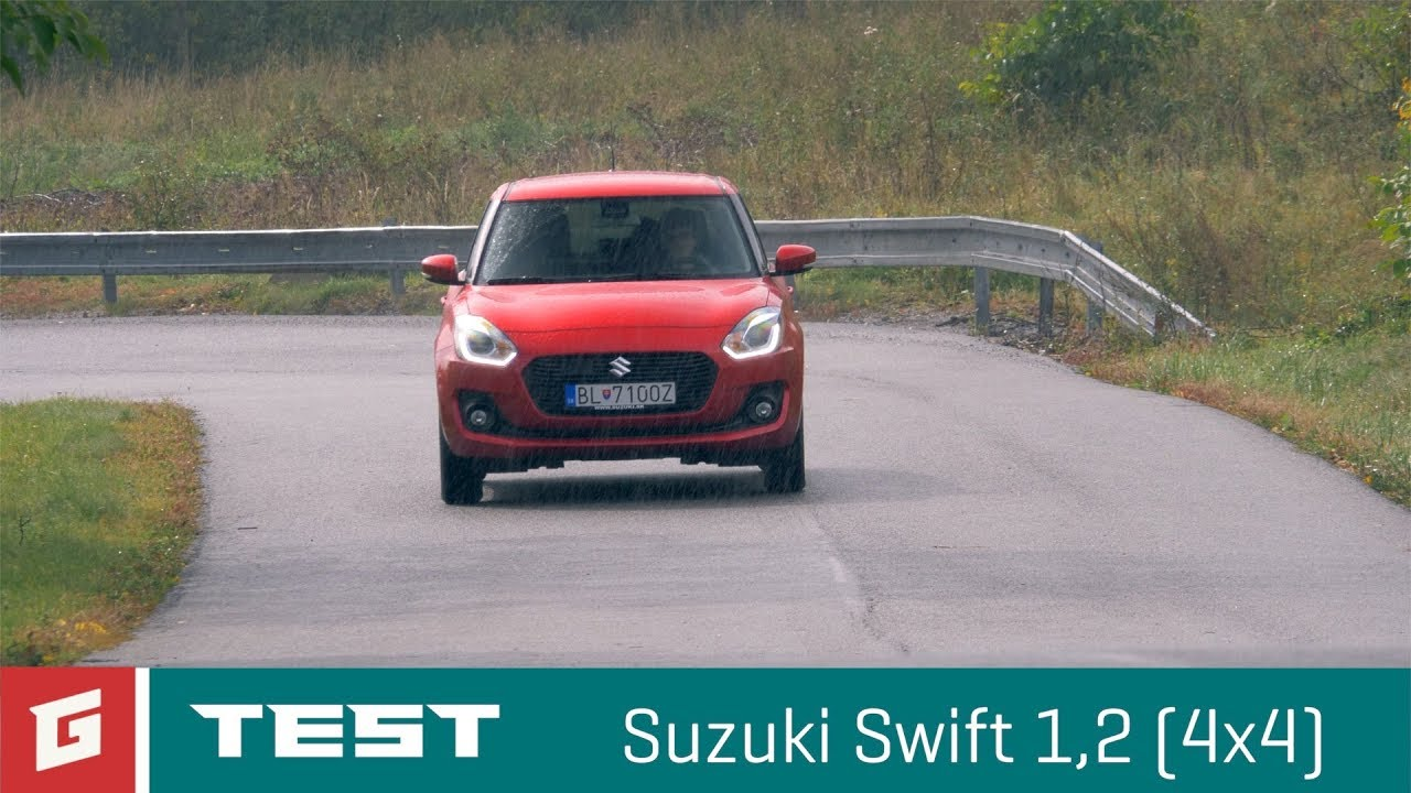 Suzuki Swift 1,2 ALL GRIP 4WD - GARAZ.TV - YouTube
