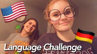 Language Challenge with my Hostsister - USA 2017/18   NinaMarie