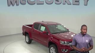190307 New 2019 Chevrolet Colorado LT RWD 4D Crew Cab Red Test Drive, Review, For Sale -