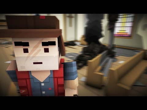 MINECRAFT ZOMBIES BUT SCARIER! - The Walking Zombie: Dead City - THE CRAFTING DEAD.. KINDA?!