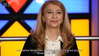 GIZ: Support of Grant Administration service for women empowerment in Armenian municipalities: 2021