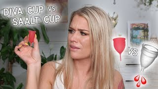 DIVA CUP vs SAALT CUP - WHICH IS BETTER? Welcome to the GAME OF CUPS | Samantha Ravndahl