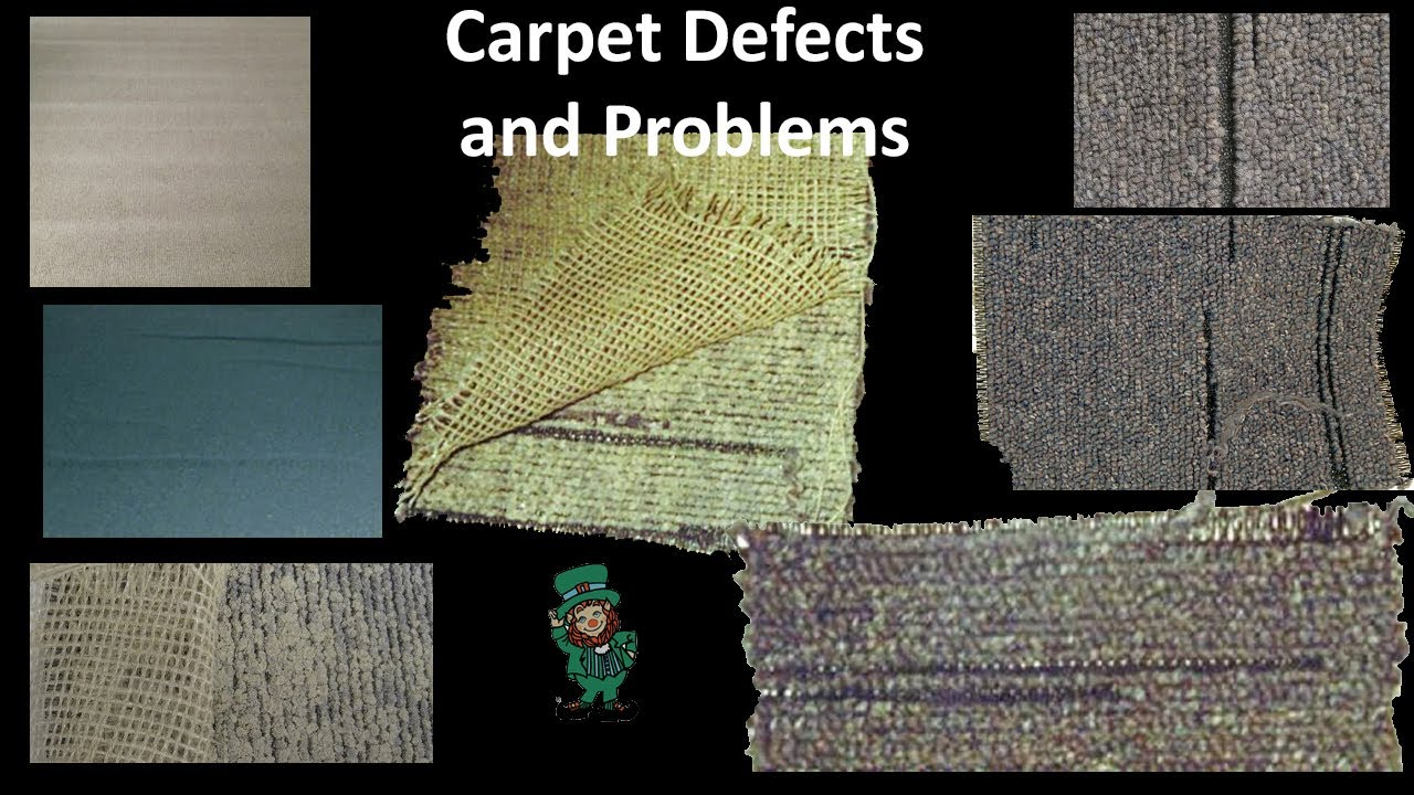 Carpet Problems Amp Defects Such As Zippering Rippling