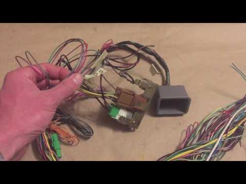 hqdefault 2000 subaru legacy wiring harness vw conversion youtube  at crackthecode.co