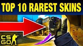 Top 10 Rare CS:GO Skins You Will Never Own