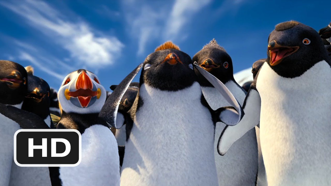 Happy Feet 2 In 3d 4 Movie Clip Think Like Sven 2011 Hd Youtube