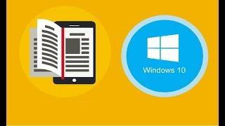 Cómo leer libros electrónicos o archivos PDF en Windows 10 | Tips y Trucos