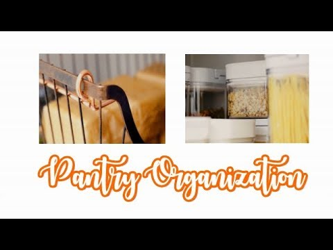 Pantry Organization Tips and Ideas - What's in my organized pantry?