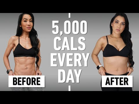 I Ate 5,000 Calories Every Day For A Month (Why I Did It & What Happened)