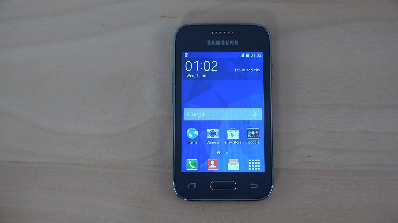 Samsung Galaxy Young 2 First Look 4K