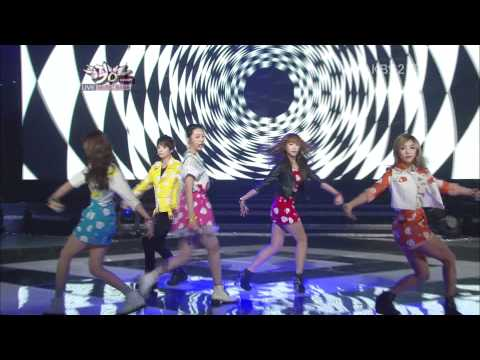 111223 KBS2 Music Bank 年末結算特輯 f(x)-Hot Summer+Danger
