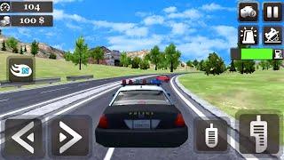 Jogos de Carros Para Crianças - Police Car Stunt Driver - Carros de Brinquedos