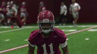 Highlights From Alabama's First 2021 Spring Practice