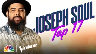 "Joseph Soul Performs the Bee Gees' ""How Deep Is Your Love"" - The Voice Live Top 17 Performances 2020"