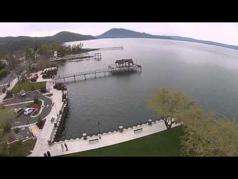 Aerial Quadcopter Trip Around Lake County, CA - First Day of Spring 2015