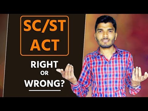 What is SC/ST Act? Why the Dalit community is against Supreme Court ? Bharat Band
