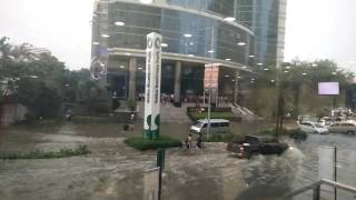 Cebu flood Ayala Business Park July 1, 2016