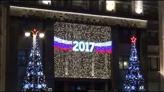 Смотреть видео FROZ5travel - Новогодняя Москва (Красная площадь и Большой театр). онлайн
